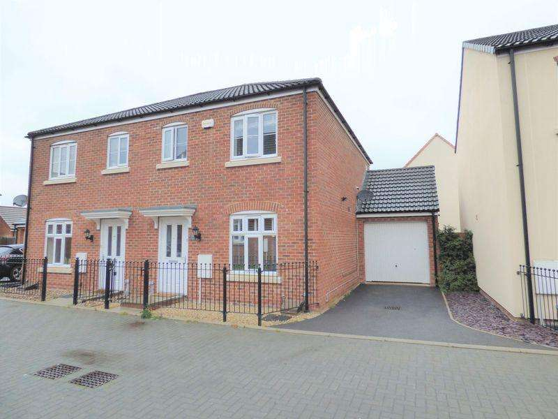3 Bedrooms Semi Detached House for sale in Lossiemouth Road Kingsway, Gloucester