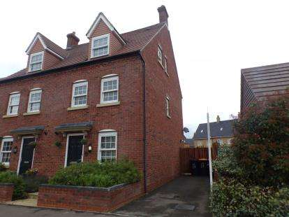 3 Bedrooms Semi Detached House for sale in Wilkinson Road, Kempston, Bedford, Bedfordshire