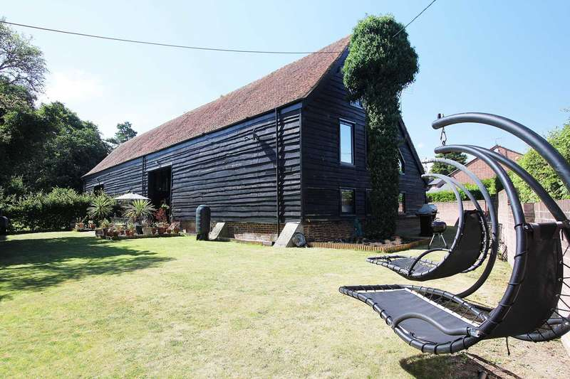 4 Bedrooms Barn Conversion Character Property for sale in Tidmarsh, Berkshire