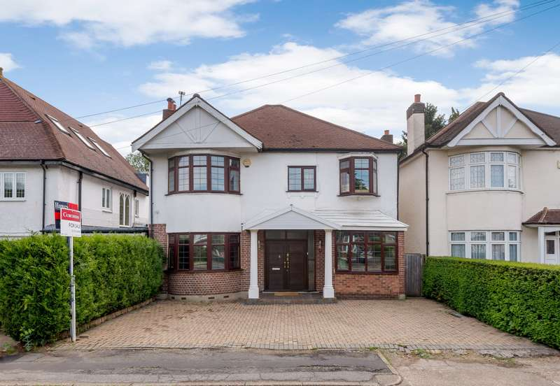4 Bedrooms Detached House for sale in Hampton Court Way, Thames Ditton, KT7