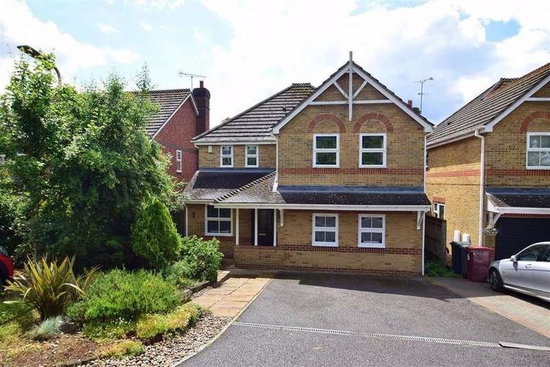 4 Bedrooms Detached House for sale in Rhigos, Emmer Green, Reading