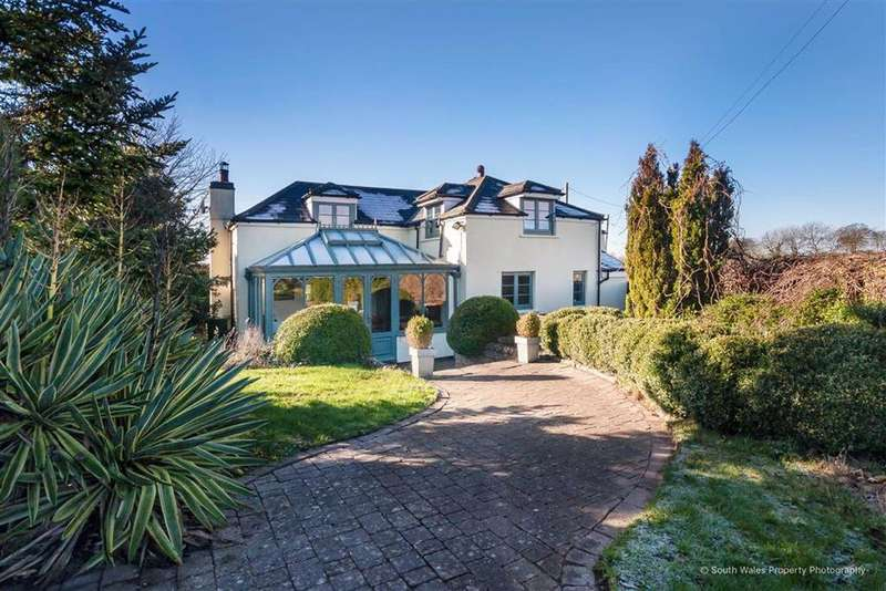 4 Bedrooms Detached House for sale in Whitton Lodge, Walterston, Vale Of Glamorgan