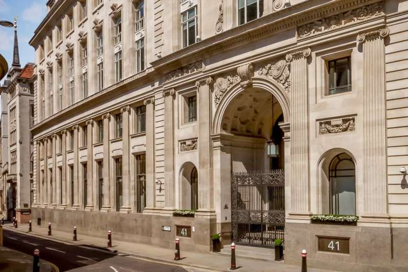 Serviced Office Commercial for rent in Lothbury, Bank, EC2R