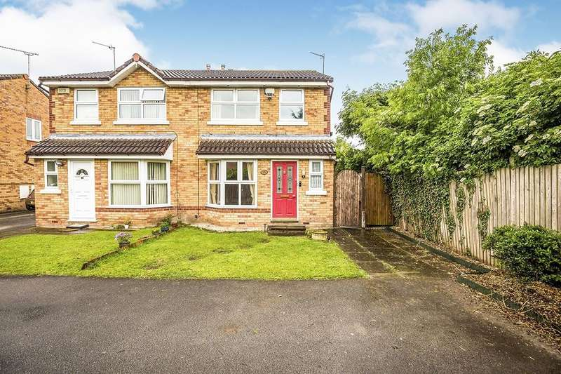 3 Bedrooms Semi Detached House for sale in Ashleigh Close, Saltney, Chester, CH4