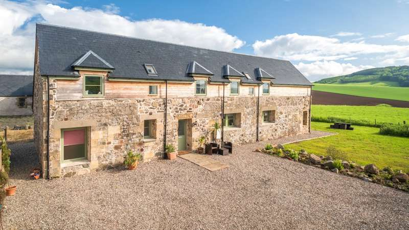 4 Bedrooms Detached House for sale in 6 Blinkbonny Farm Steading, By Dunbog, Cupar, Fife, KY14