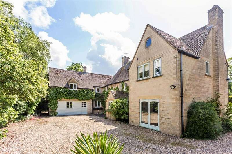5 Bedrooms Detached House for sale in Private Road, Rodborough Common, Stroud