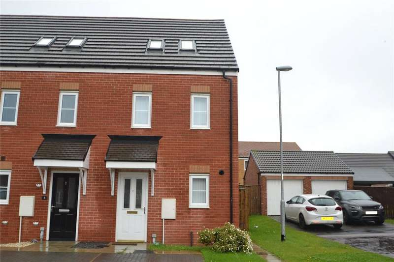3 Bedrooms Terraced House for sale in Buttercup Close, Shotton Colliery, Durham, Durham, DH6