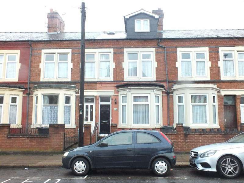 5 Bedrooms Terraced House for sale in Mere Road, Leicester, LE5 3HR