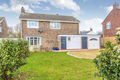 4 Bedrooms Detached House for sale in Yeomans Close, Catworth, Huntingdon, Cambridgeshire