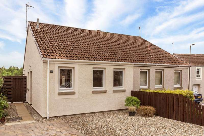 3 Bedrooms Semi Detached Bungalow for sale in 35 Chalybeate, Haddington, EH41 4NX