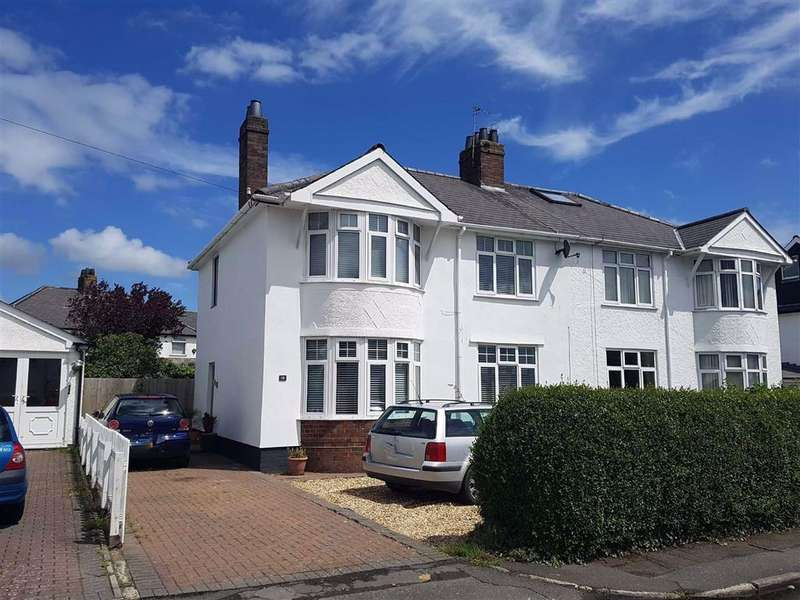 3 Bedrooms Semi Detached House for sale in Trem Y Don, Garden Suburb, Barry