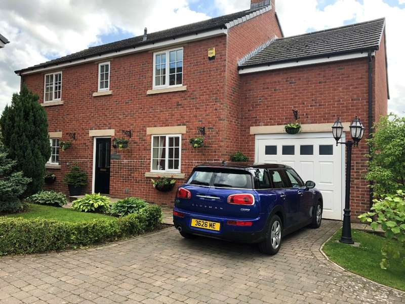 4 Bedrooms Detached House for sale in Stonecroft Gardens, High Hesket, Carlisle, CA4
