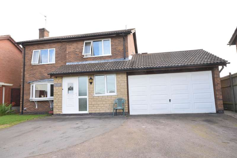4 Bedrooms Detached House for sale in Hardwicke Road, Narborough, Leicester, LE19 3LW
