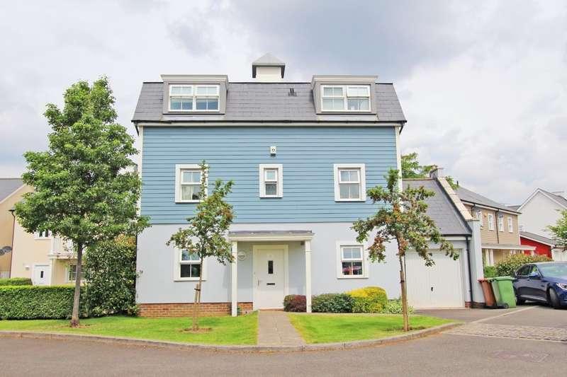 5 Bedrooms Detached House for sale in Heatherlea Grove, Worcester Park