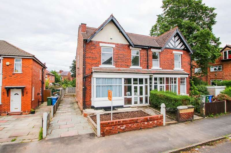 4 Bedrooms Semi Detached House for sale in Westbourne Park, Urmston, Manchester, M41