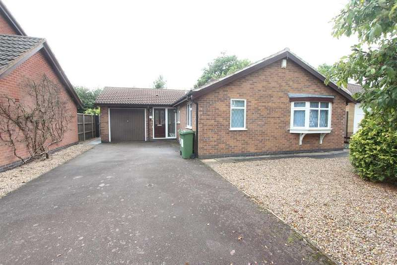 2 Bedrooms Detached Bungalow for sale in Knights Close, Stoney Stanton