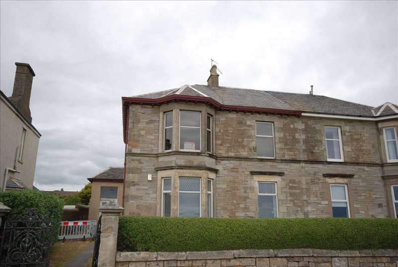 3 Bedrooms Apartment Flat for sale in Montgomerie Crescent, Saltcoats