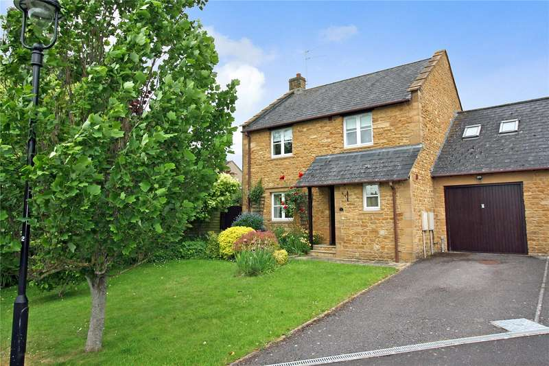 4 Bedrooms Detached House for sale in Osborne Place, Lower Street, Merriott, Somerset, TA16