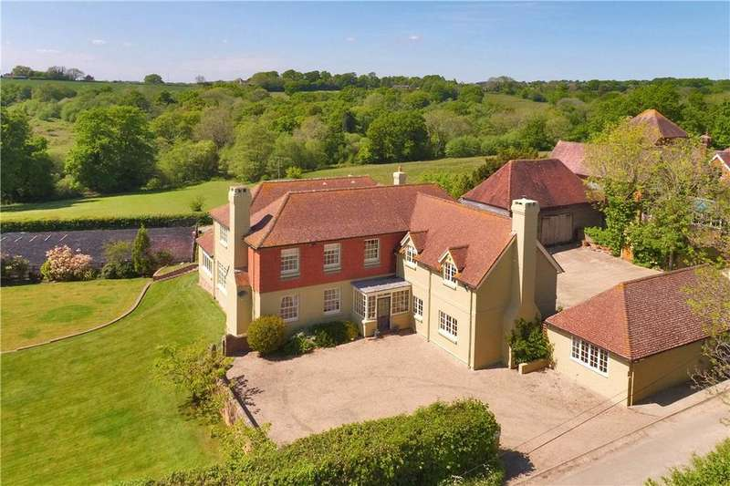 5 Bedrooms Detached House for sale in Chapmans Town Road, Rushlake Green, Heathfield, East Sussex, TN21
