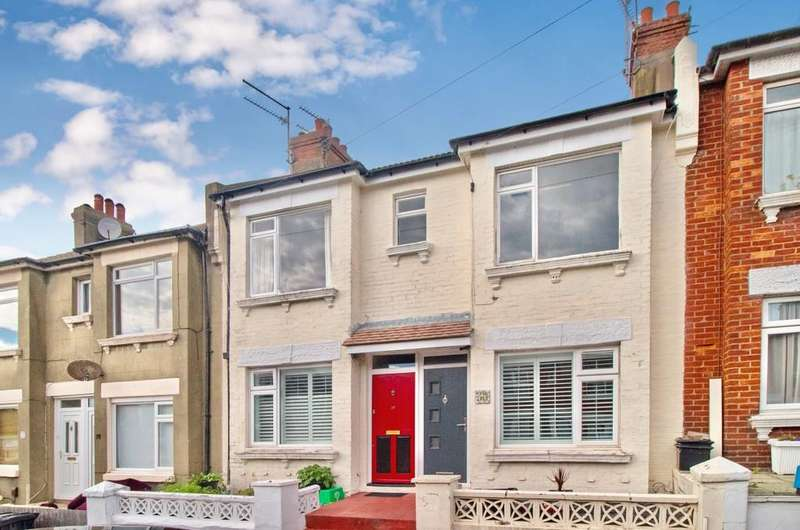 2 Bedrooms Ground Flat for sale in Milner Road, Brighton