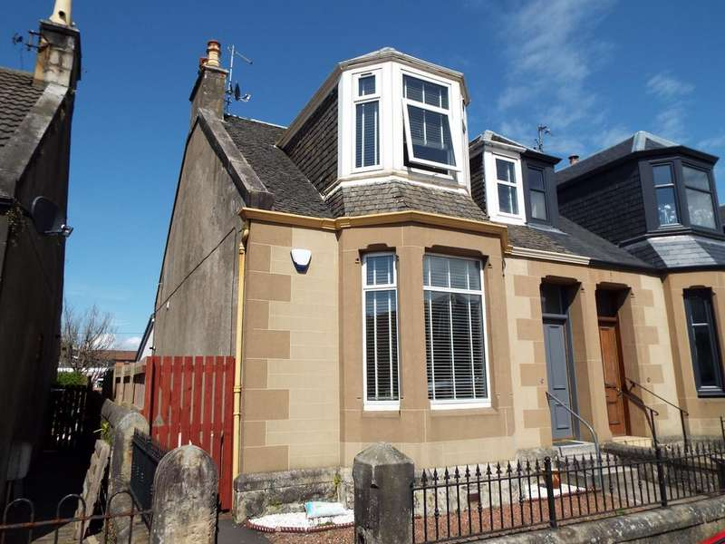 2 Bedrooms Semi Detached House for sale in Argyle Road, Saltcoats KA21