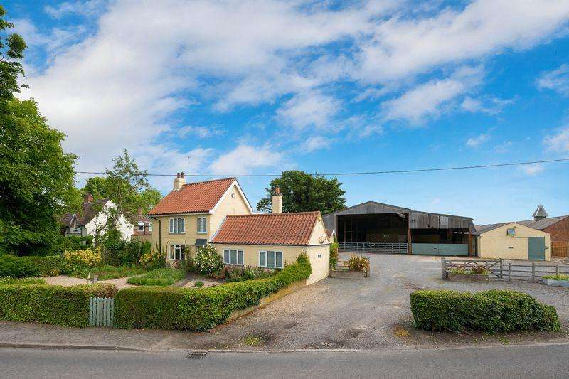 2 Bedrooms Detached House for sale in Equestrian Property in 4.2 acres, Main Road, Orby