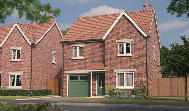 3 Bedrooms Detached House for sale in Shrewsbury, Plot 154 Tuplin Road, Mablethorpe