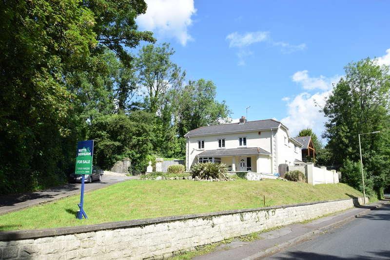 5 Bedrooms Detached House for sale in Pen-Y-Fai Lodge, Pen-Y-Fai, Bridgend, Bridgend County Borough, CF31 4LW