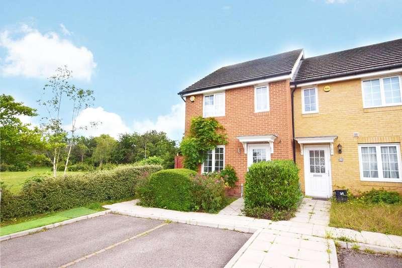 3 Bedrooms End Of Terrace House for sale in Jersey Drive, Winnersh, Wokingham, Berkshire, RG41