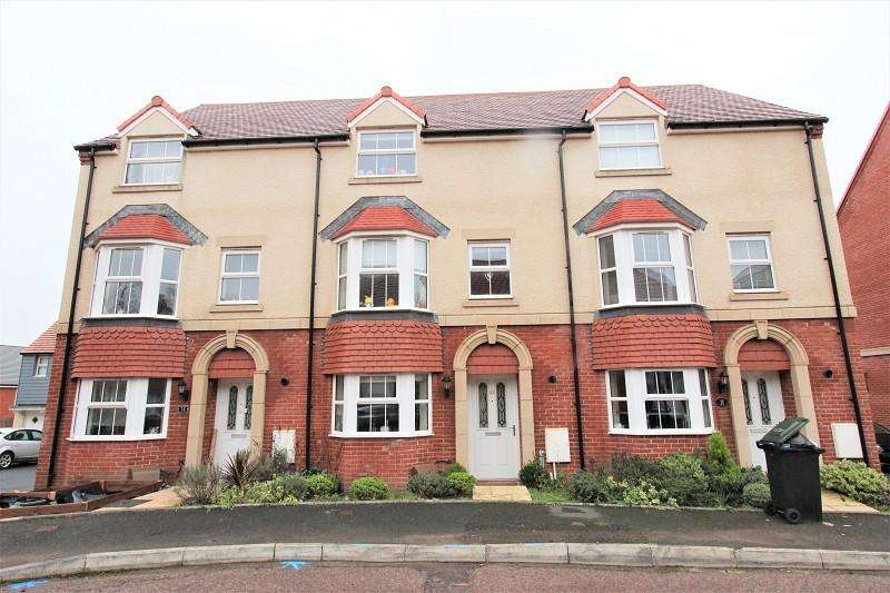 4 Bedrooms Town House for sale in Sycamore Drive, Newport. NP20 5EU