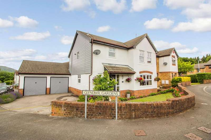 4 Bedrooms Detached House for sale in Glyndwr Gardens, Ysbytty Fields, Abergavenny, NP7