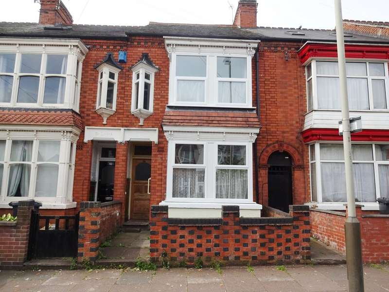 4 Bedrooms Terraced House for sale in Upperton Road, Leicester LE3