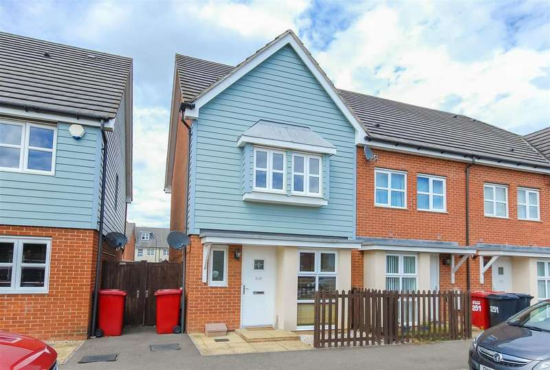 2 Bedrooms End Of Terrace House for sale in Eltham Avenue, Cippenham