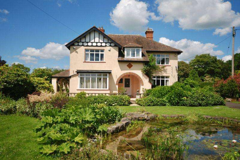 4 Bedrooms Detached House for sale in On the outskirts of Evercreech