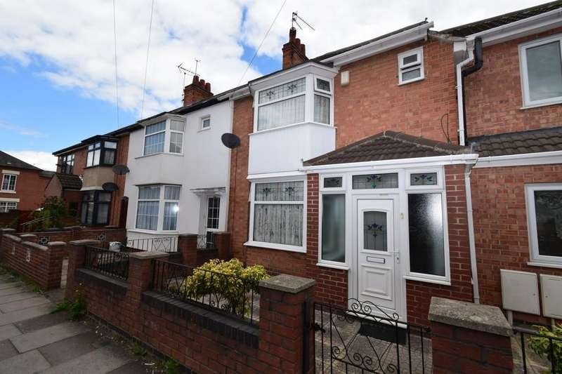 3 Bedrooms Terraced House for sale in Nottingham Road, North Evington, Leicester