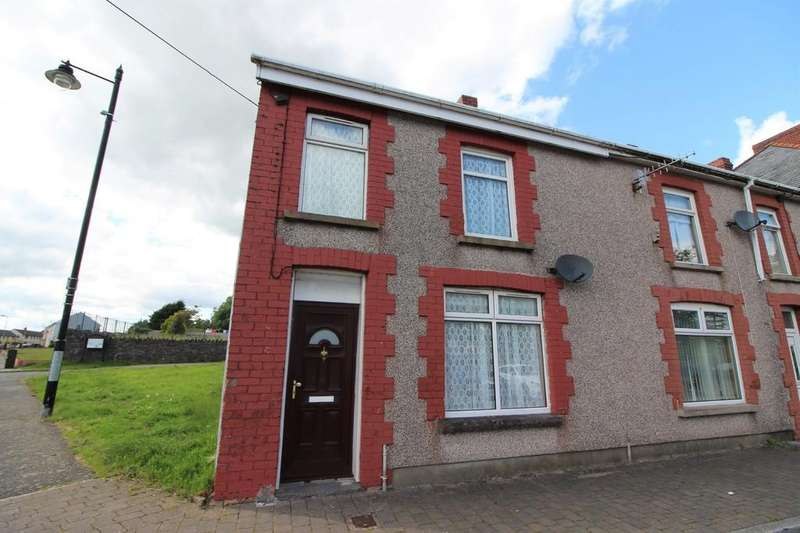 2 Bedrooms End Of Terrace House for rent in St. Cattwgs Avenue, Gelligaer