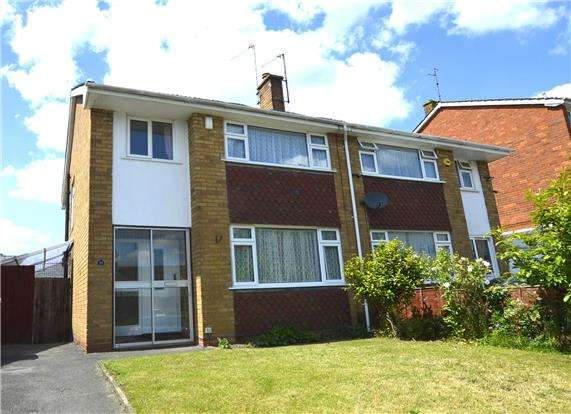 3 Bedrooms Semi Detached House for sale in Arle Gardens, CHELTENHAM, Gloucestershire, GL51 8HP