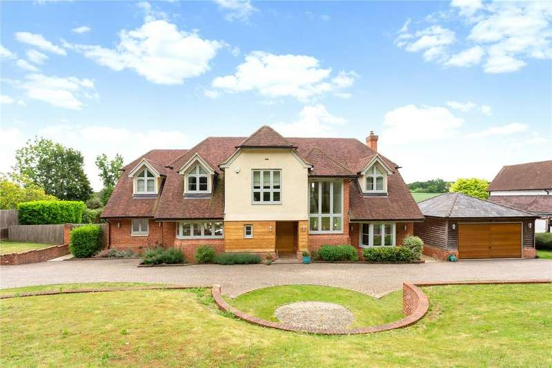 5 Bedrooms Detached House for sale in Grubwood Lane, Cookham, Berkshire, SL6