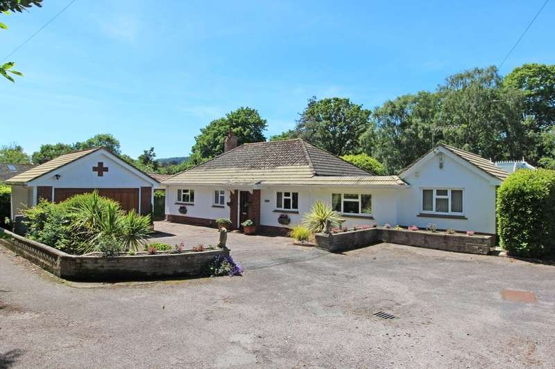3 Bedrooms Detached Bungalow for sale in Sid Road, Sidmouth, EX10