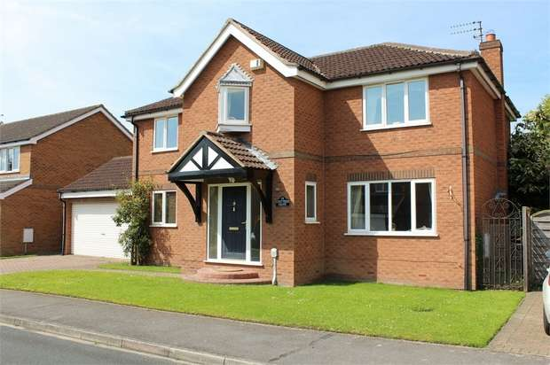 4 Bedrooms Detached House for sale in Crofters Drive, Cottingham, East Riding of Yorkshire