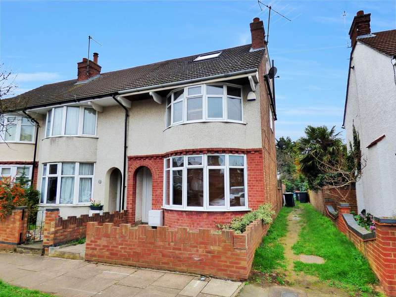 4 Bedrooms End Of Terrace House for sale in Harvey Road, Bedford MK41