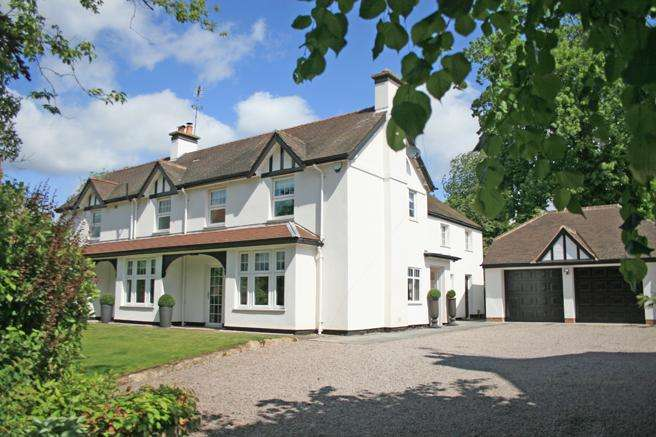 5 Bedrooms Detached House for sale in The White House, Main Street , Farnsfield , Nottinghamshire NG22