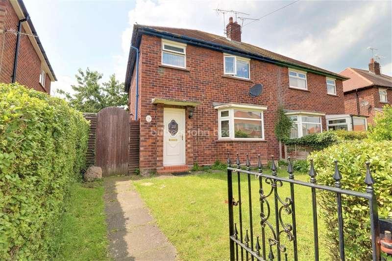 3 Bedrooms Semi Detached House for sale in Deva Road, Crewe