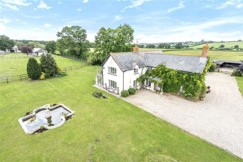 5 Bedrooms Detached House for sale in North Perrott, Crewkerne, Somerset, TA18