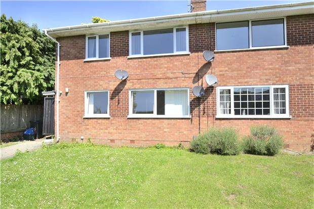 2 Bedrooms Maisonette Flat for sale in Pinemount Road, Hucclecote, GLOUCESTER, GL3 3EH
