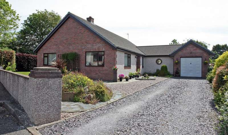 3 Bedrooms Detached Bungalow for sale in Cae Lleiniau, Dwyran, North Wales