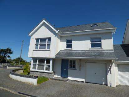 Detached House for sale in Lon Tesog, Trearddur Bay, Anglesey, LL65
