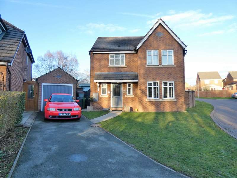 3 Bedrooms Detached House for sale in Upton Close, Winsford, Cheshire, CW7