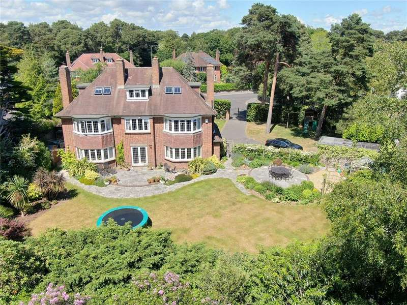 6 Bedrooms Detached House for sale in Little Forest Road, Talbot Woods, Bournemouth, BH4