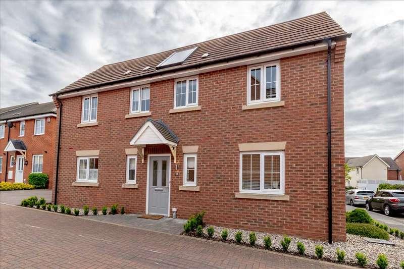 4 Bedrooms Detached House for sale in Badgers Holt, Woburn Sands, Milton Keynes